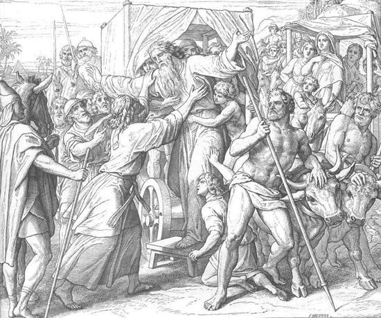 Встреча Иосифа с Израилем