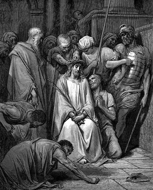 Возложение на Иисуса Христа тернового венца