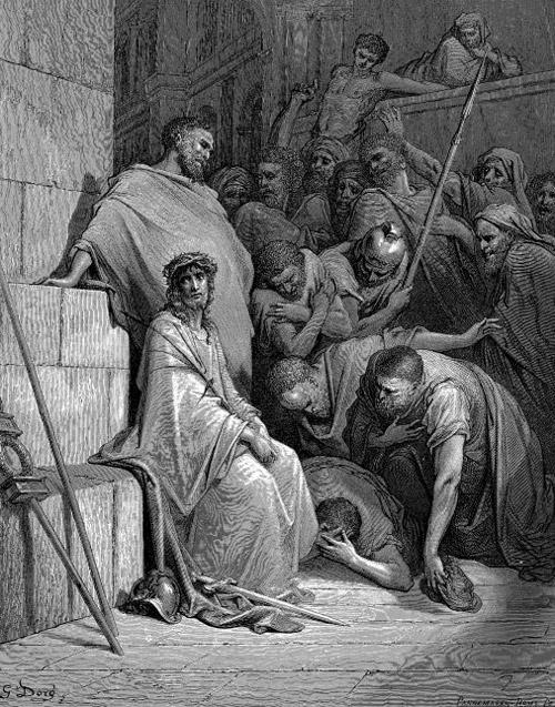 Надругательство римских воинов над Иисусом Христом