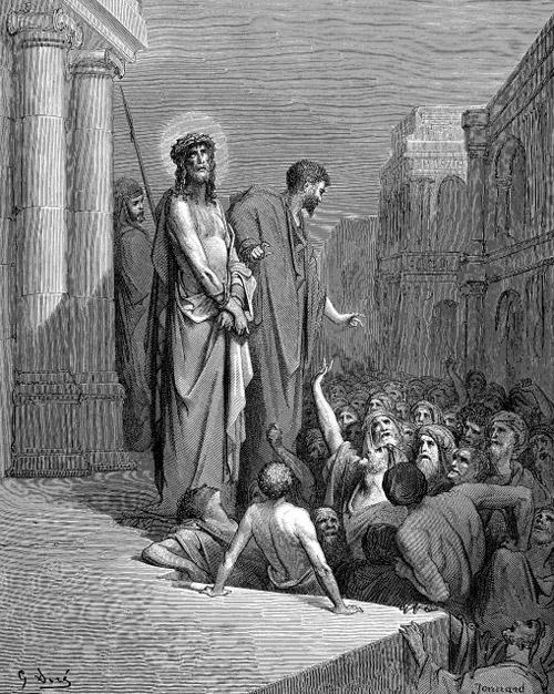 Пилат выводит к народу Иисуса Христа