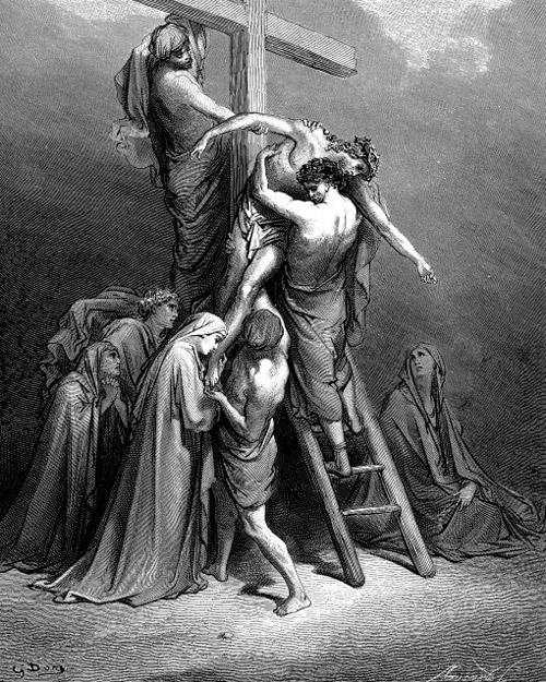Снятие с креста Тела Господа