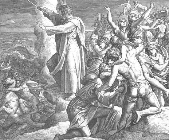 Переход евреями Чермного моря