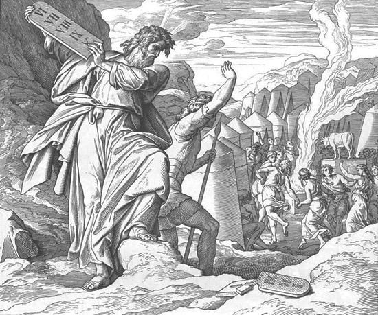 Моисей разбивает скрижали
